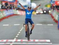 Soler wins Vuelta second stage, Roglic stays in red
