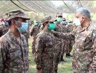 Chief of Army Staff visits Chamb Sector; emphasizes troops to sup ..