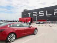 Tesla exports made-in-China Model 3 to Europe