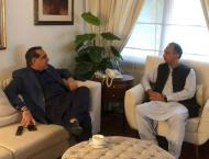 Governor, federal minister leave for Hyderabad