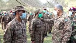 Chief of Army Staff visits Chamb Sector; emphasizes troops to support local population