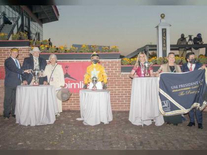 """الجواد """"باديس دي"""" يحصد لقب كأس رئيس الدولة للخيول العربية الأصيلة في أمريكا"""