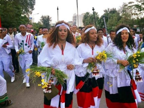Ethiopia's largest ethnic group holds scaled-back thanksgiving festival
