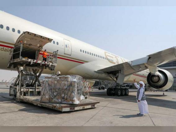 UAE sends second medical aid flight to Jordan in fight against COVID-19