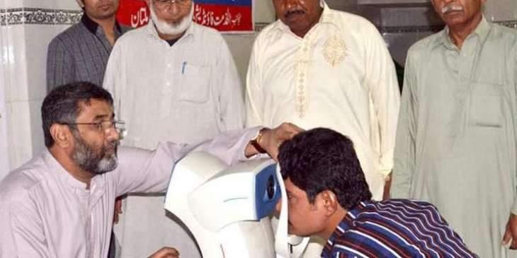 Free eye camp to start from Monday