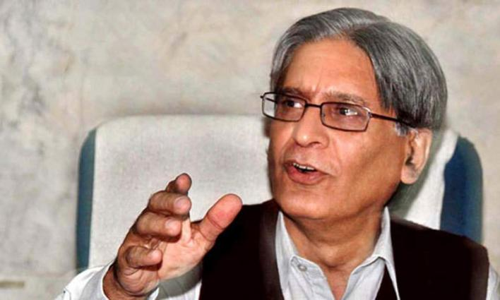 'I'm disgusted with Nawaz Sharif's past': Aitzaz Ahsan