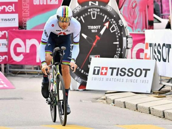 Ganna claims third Giro stage win, Almeida extends race lead