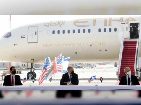 Obaid Humaid Al Tayer heads UAE delegation in Tel Aviv, signs four agreements