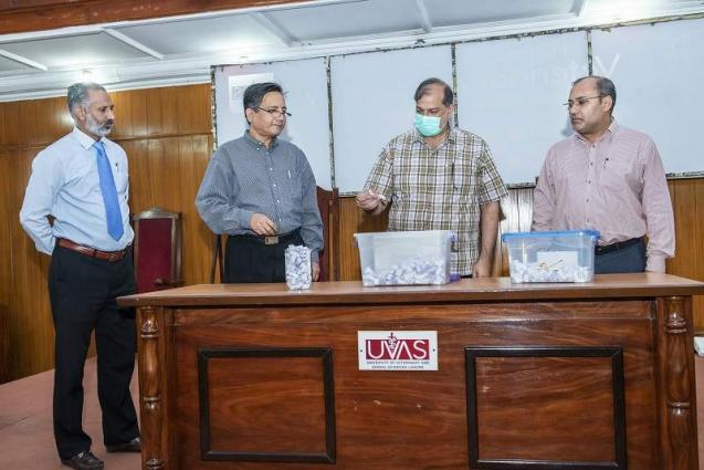 UVAS holds Umrah Draw ceremony