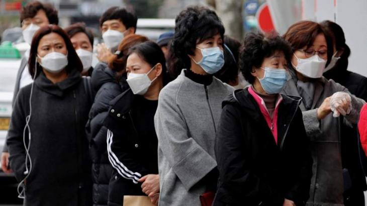 S. Korea reports 119 more COVID-19 cases, 25,955 in total