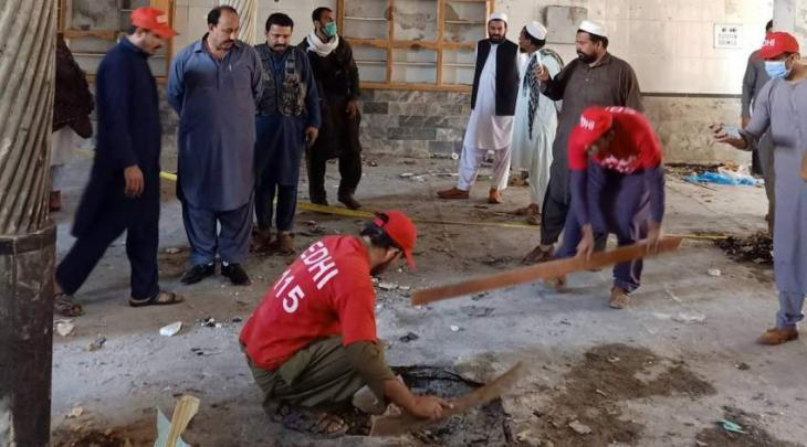 Five victims of blast identified, toll mounts to eight, 72 injured: Police