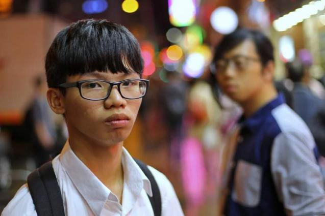 Hong Kong teen activist detained near US consulate: reports