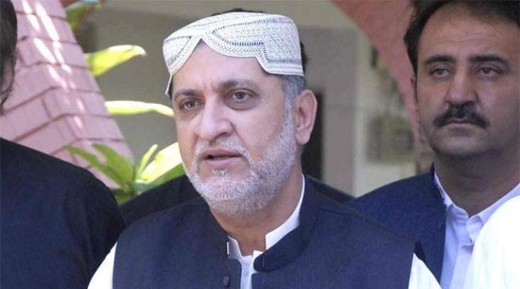 Akhtar Mengal arrives at Jati Umra to call on Maryam Nawaz