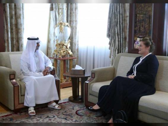 Tolerance Minister, Australian Ambassador discuss cooperation relations