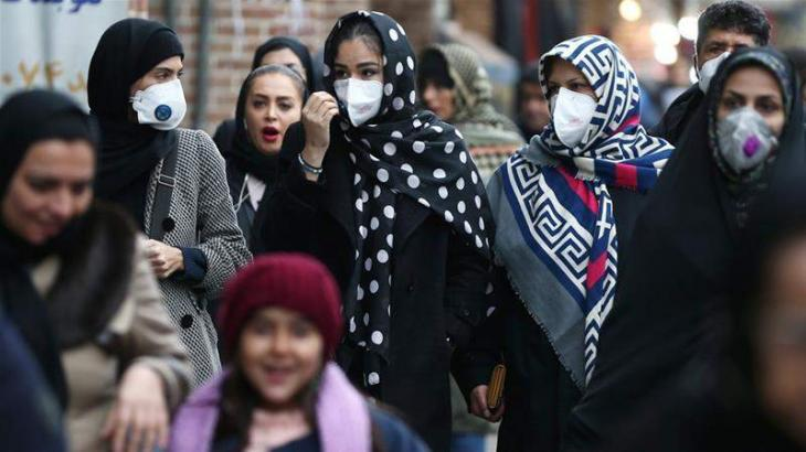 Iran reports record 6,968 new coronavirus cases