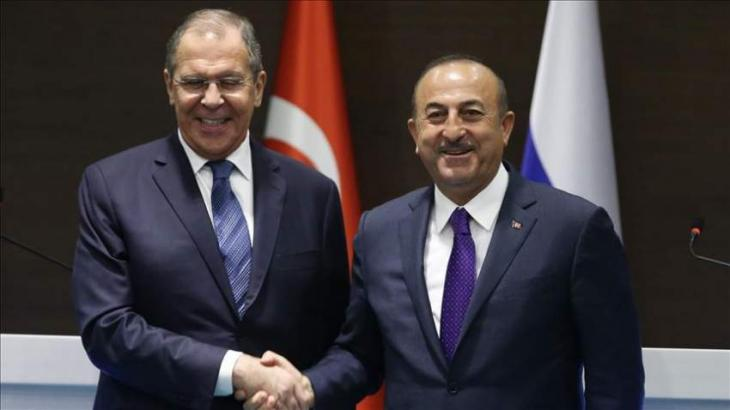 Turkish, Russian Foreign Ministers Discuss Karabakh, Libya, Syria - Source in Ankara