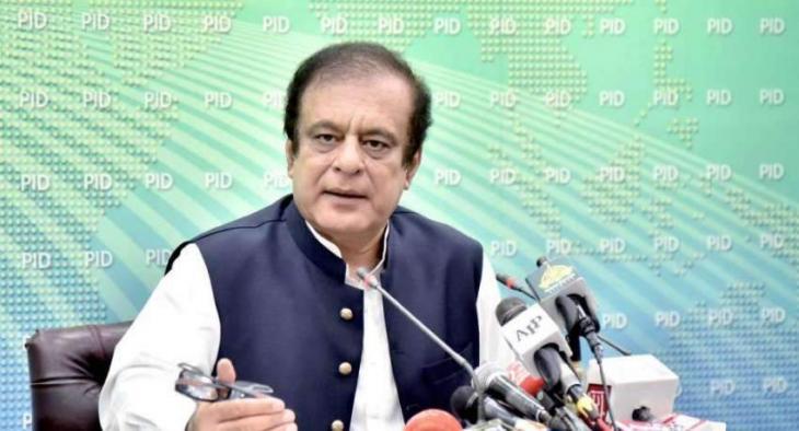 PTI govt not to budge from accountability of corrupt: Shibli Faraz