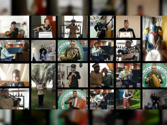 26 countries together in honour of Frontline Heroes around World