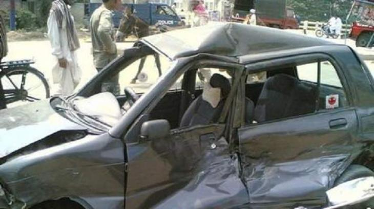 Accident injures three in Khanewal