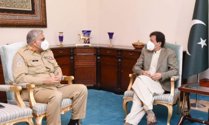 COAS calls on PM Imran Khan