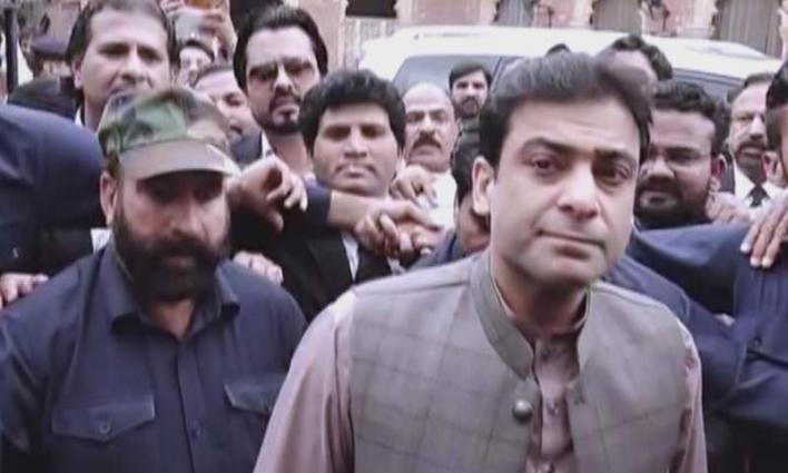 Hamza Shehbaz refuses to go to court in armored vehcile: Sources
