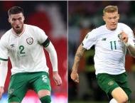 Ireland duo test positive for virus ahead of Bulgaria game