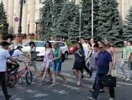 Citizens in Eastern Ukraine's Kharkiv Region Take to Streets Over ..