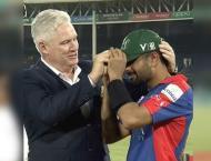 'Deano, Job done Coach!,' says Babar Azam