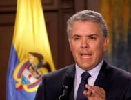Colombian President Duque Says Bogota's Relations With US to Stre ..