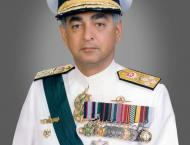 """Admiral Fasih Bokhari Sounds the Concluding """"Ring off Main Engi .."""
