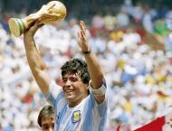 Argentina's football legend Diego Maradona passes away