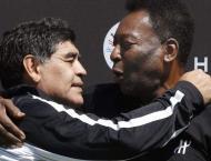 Iconic footballer Pele pays tribute to great friend Maradona