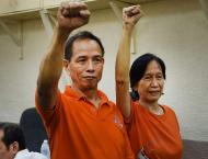 Fugitive Philippine rebel chiefs convicted of kidnapping