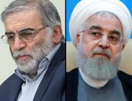 Iran's Hassan Rouhani accuses 'mercenary' Israel of scientist ass ..
