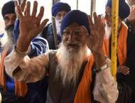 600 Sikh pilgrims from India arrive as Baba Guru Nanak birth anni ..
