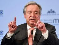 UN chief calls for eliminating scourge of chemical weapons