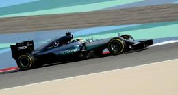 Hamilton scorches to pole in Bahrain with record-breaking lap