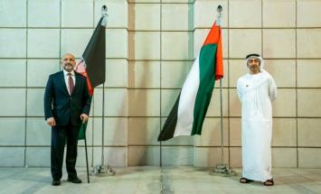 عبدالله بن زايد يستقبل وزير خارجية أفغانستان