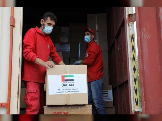 ERC land aid convoy arrives in Damascus to help limit spread of COVID-19