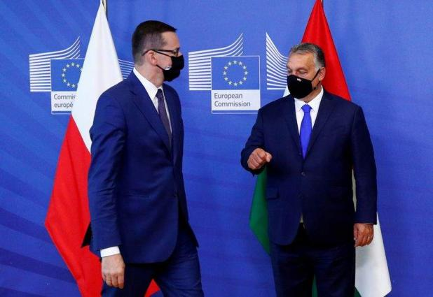 Hungary, Poland block 2021-2027 EU budget, recovery package