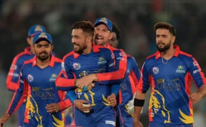 Ace Karachi Kings players challenge each other to win a coveted title