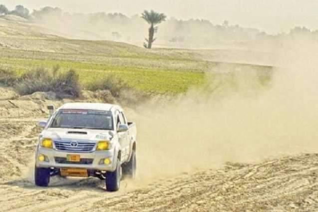 Racers rev up car engines as 3-day 5th Thal jeep rally to get under way from Friday