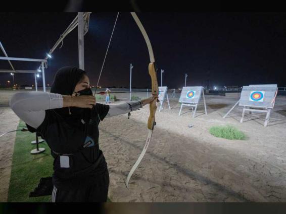 اختتام بطولة أكاديمية فاطمة بنت مبارك للرماية بالقوس