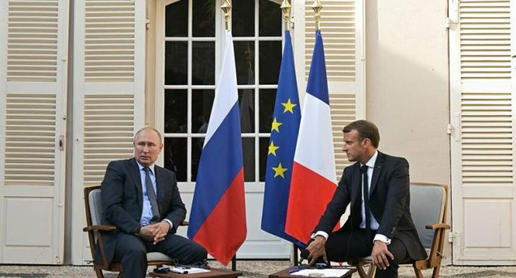 Kremlin Unaware of French Media Reports on Details of Putin-Macron November 7 Phone Talks