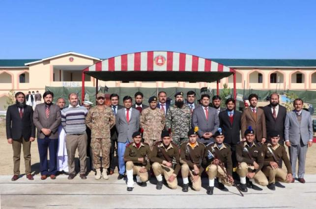 Locals alongwith Pak Army laid their lives for the peace in the region, youth to gear up now: IG FC