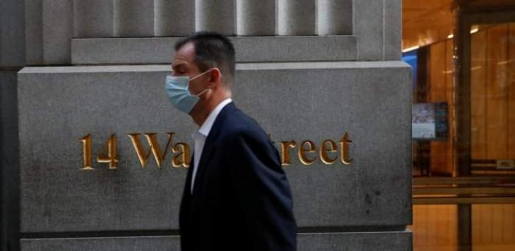 US stocks open week lower, pulling back from records