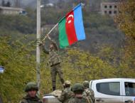 Azerbaijani forces raise flag in last district handed back by Arm ..