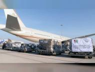 UAE sends third aid plane to support Gaza Strip in fight against  ..