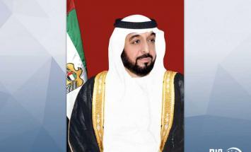 بصفته حاكما لإمارة أبوظبي.. خليفة بن ..
