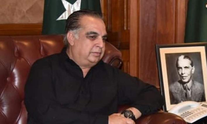 Kickboxing athlete Khan Saeed Afridi calls on Governor